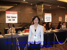 PhD-Dr.Tu attended the International Cosmetic Surgery Conference in Tokyo 2005