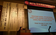 PhD - Dr.Tu presented at the Japan Cosmetic Surgery Conference 2014