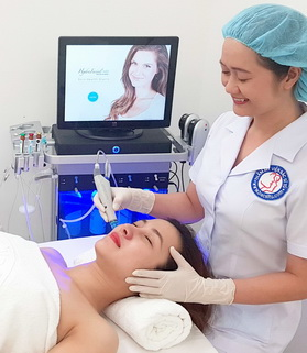Advanced skin care by HydraFacial