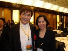 PhD-Dr.Tu & Dr.Katsuya– 5th President of  International Acedemy of Cosmetic Surgery