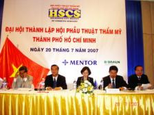 PhD-Dr.Tu in  HCM City Society of Plastic & Aesthetic Surgery - Grand Opening Ceremony